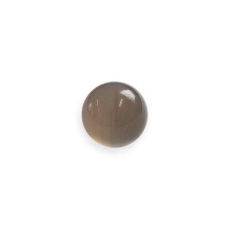 Polished agate grinding ball