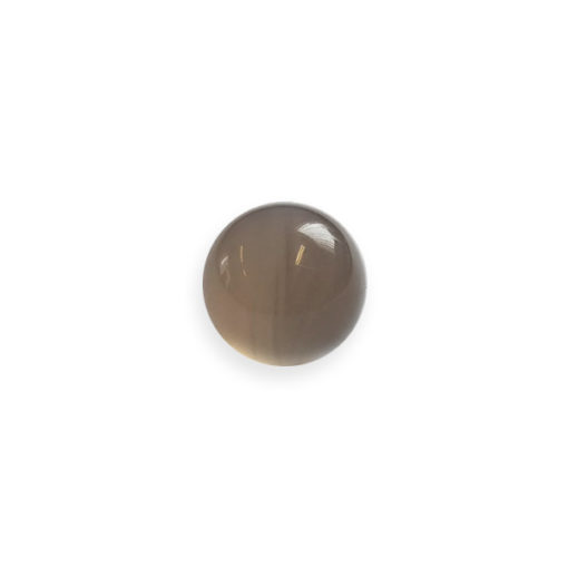 Polished agate grinding ball