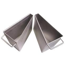 Rotary sample divider buckets
