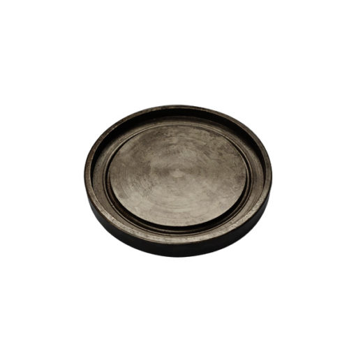 B50 chrome steel lid