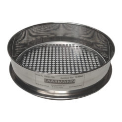 test sieve round hole perforated plate 10mm