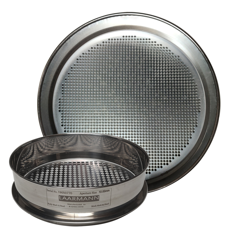 test sieves round hole perforated plate