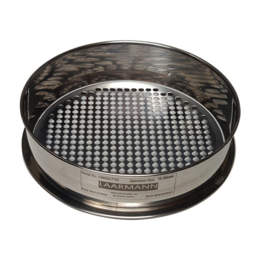 test sieves round perforated plate 10mm