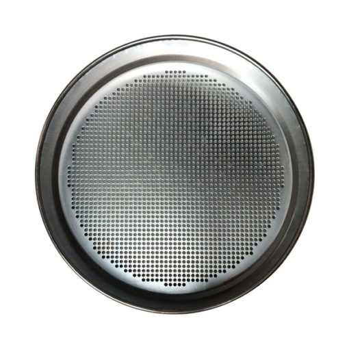 test sieves round hole perforated plate top view