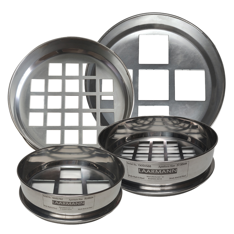 test sieves square hole perforated plate
